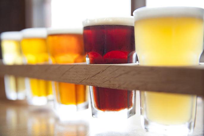 5-beer tasting tray